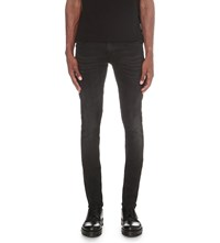 Tiger Of Sweden Faded Wash Slim Fit Skinny Jeans Black