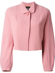 Raoul Puff Sleeve Jacket Pink And Purple