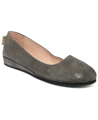 French Sole Fs Ny Zeppa Wave Flats Women's Shoes Taupe Wave
