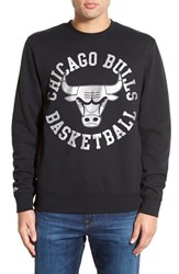 Men's Mitchell And Ness 'Chicago Bulls' Tailored Fit Fleece Crewneck Sweatshirt