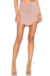 Riller And Fount Buzzy Skirt Mauve