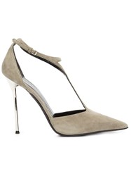 Narciso Rodriguez T Bar Pump Shoes Nude And Neutrals