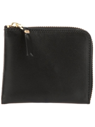 Comme Des Garcons Wallet Two Side Zip Classic Wallet Black