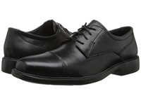 Bostonian Wenham Black Smooth Leather Men's Lace Up Cap Toe Shoes