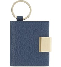 Smythson Grosvenor Leather Folding Photograph Keyring