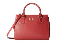 Salvatore Ferragamo 21F317 Beky Rosso Satchel Handbags Red