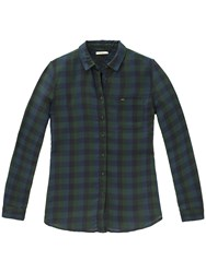 Lee One Pocket Check Shirt Bottle Green
