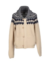 Red Soul Knitwear Cardigans Men Ivory