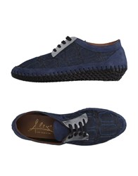 Alex Footwear Lace Up Shoes Women Blue