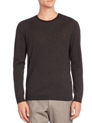 Strellson Virgin Wool And Silk Sweater Black