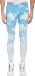Westbrook Xo Barneys New York X Jordan Compression Tights Blue