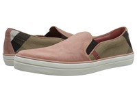 Burberry Gauden Pale Russet Women's Slip On Shoes Pink