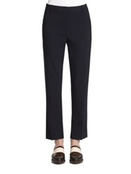 3.1 Phillip Lim Stretch Wool Pencil Trousers Navy Black