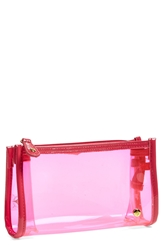 Stephanie Johnson 'Miami Pink' Small Cosmetics Case
