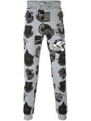 Philipp Plein 'Freetime' Trackpants Grey