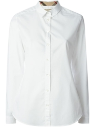 Burberry Brit Classic Collar Shirt White