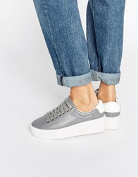 Truffle Collection Flatform Trainer Grey