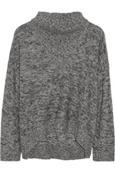 3.1 Phillip Lim Marled Kntited Sweater Gray