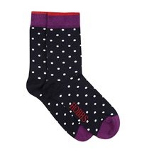 Hobbs Large Spot Sock Multi