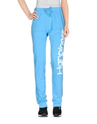 Happiness Trousers Casual Trousers Women Sky Blue