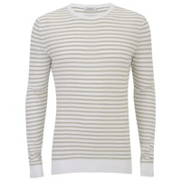 J. Lindeberg J.Lindeberg Men's Crew Neck Knitted Jumper White
