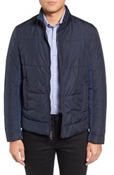 Zachary Prell Men's Quilted Zip Front Jacket