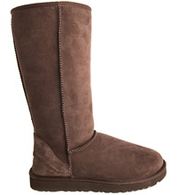 Ugg Classic Tall Sheepskin Boots Dark Brown