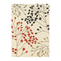 Sanderson Pippin Charcoal Coral Rug 170X240cm