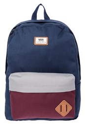 Vans Old Skool Ii Rucksack Port Royale Colorblock Dark Blue