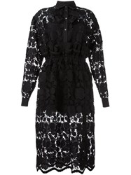 N 21 No21 Lace Shirt Dress Black