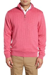 Men's Bobby Jones Windproof Merino Wool Quarter Zip Sweater Maui