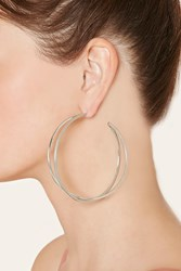 Forever 21 Layered Hoop Earrings