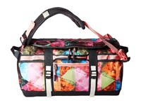 The North Face Base Camp Duffel Xs Double Take Print Terrazzo Pink Duffel Bags Multi