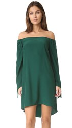 Amanda Uprichard Desire Dress Dark Green