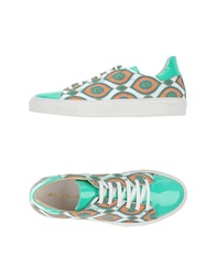 Alberto Moretti Sneakers Emerald Green