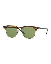 Ray Ban Ray Ban Clubmaster Sunglasses Havana Brown