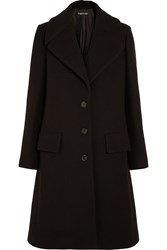 Tom Ford Wool Felt Coat Black