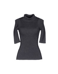 Plein Sud Jeanius Turtlenecks Lead