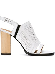 Thakoon Addition 'Lizzy' Sandals White