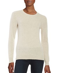 Lord And Taylor Cashmere Sweater Stone Heather