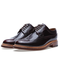 Sid Longwing Brogue Burgundy