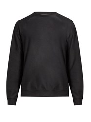 A.P.C. X Outdoor Voices Comeback Crew Neck Performance Sweatshirt Dark Grey