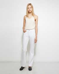 Acne Studios Lita Optic Jean Optic White