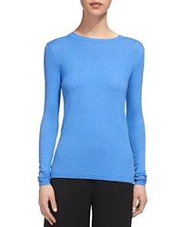 Whistles Annie Sparkle Knit Top Blue