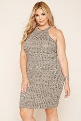 Forever 21 Plus Size Marled Tank Dress