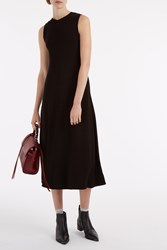 Proenza Schouler Side Tie Dress Black