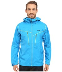 Outdoor Research Precipice Jacket Tahoe Men's Coat Blue