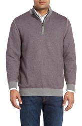 Cutter And Buck Men's Twin Falls Quarter Zip Sweater
