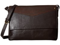 Scully Hidesign Aiden Workbag With Padded Compartment Brown Bags