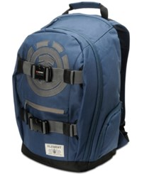 Element Men's Mohave Logo Graphic Backpack Midnight Blue